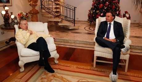 Silvio é um apoiador declarado de Bolsonaro desde a campanha presidencial de 2018