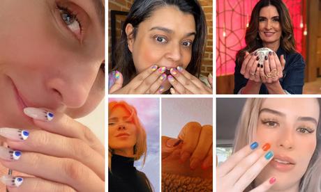 Nail art das famosas (Fotos: Instagram/Reprodução)