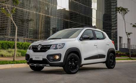 Renault Kwid Outsider: versão topo de linha aventureira custa R$ 50.390.