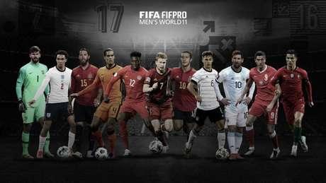 Seleção foi divulgada pela Fifa (Foto: Divulgação/Fifa)