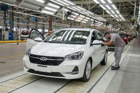 Fábrica da Caoa Chery em Jacareí: sem o Inovar-Auto não teríamos uma marca com nome nacional.