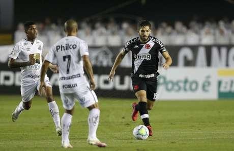 Vaso e Santos empataram por 2 a 2 na Vila Belmiro, no primeiro turno do Brasileirão (Foto: Rafael Ribeiro/Vasco)