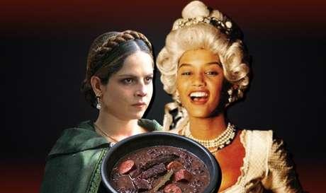 A vilã Violante se deliciou com a carne de um empregado dedo-duro da impiedosa Xica da Silva