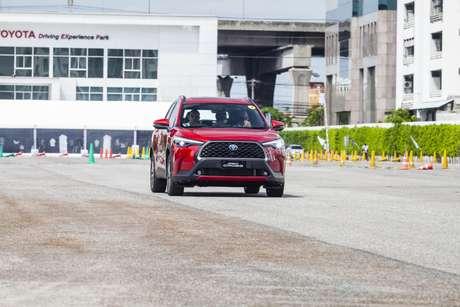 Dentro da Toyota há quem preferisse um design frontal mais conservador para o Corolla Cross.