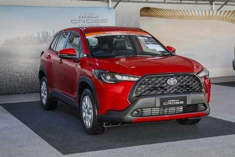 Novíssimo Toyota Corolla Cross: estreia agendada para o dia 11 de março.