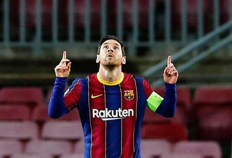Messi marcou 643 vezes pelo Barça em jogos oficiais