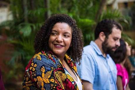 A candidata pelo PSOL à prefeitura do Rio de Janeiro, Renata Souza