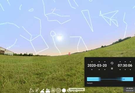 Origem da imagem: Stellarium.org