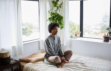 O seu local de meditação deve ser confortável, silencioso e inspirar uma sensação de pureza e limpeza