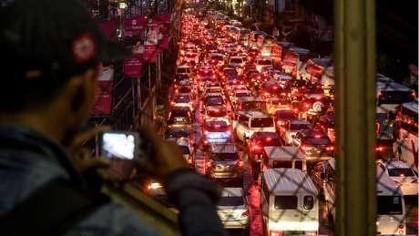 Manila é uma das cidades mais congestionadas do mundo