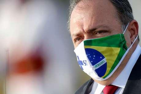 Ministro da Saúde, Eduardo Pazuello 09/06/2020 REUTERS/Adriano Machado