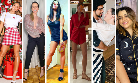 Looks das famosas no Natal (Fotos: Instagram/Reprodução)