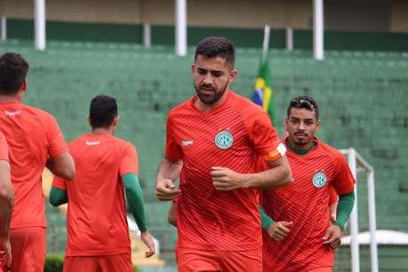 Lucas Abreu falou sobre seu ano especial com o Guarani, mas quer mais para o clube (Foto: Divulgação/Guarani)