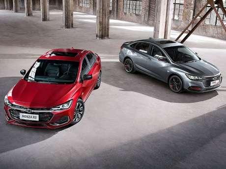 Chevrolet Monza vendido na China: quatro versões de motorização.