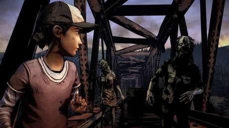 """Parece que o tema de The Walking Dead: The Telltale Definitive Series é """"toda escolha que você faz está errada"""""""
