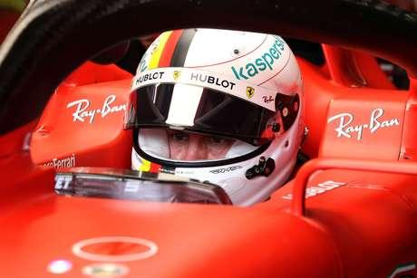 Sebastian Vettel tuvo un año oscuro con Ferrari