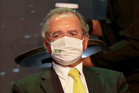 Ministro da Economia, Paulo Guedes, durante seminário em Brasília 08/12/2020 REUTERS/Ueslei Marcelino