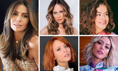 Mudanças de visual das famosas (Fotos: Instagram/Reprodução)