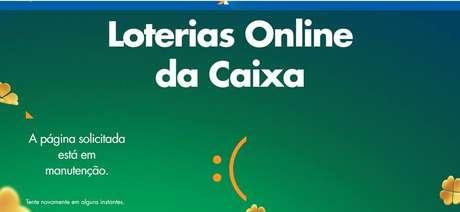 Na véspera da Mega da Virada, apostadores relatam instabilidade em site e app da Caixa