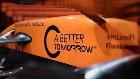 """Parceria entre McLaren e British American Tobacco começou em 2019 com a iniciativa """"A Better Tomorrow""""."""