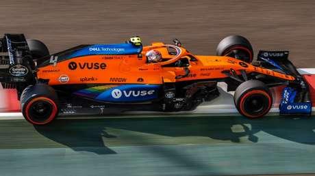 McLaren estampa a marca de cigarro eletrônico Vuse, do grupo British American Tobacco.