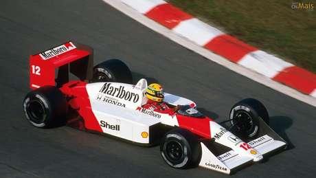 Marlboro fez história na McLaren pilotada por Senna, Prost e Lauda nos anos 80.