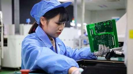 Entre as grandes economias, a China é a única que terá crescimento econômico em 2020
