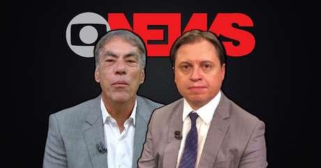 Demétrio Magnoli e Gerson Camarotti: comentaristas iniciaram discussão relevante que a GloboNews interrompeu