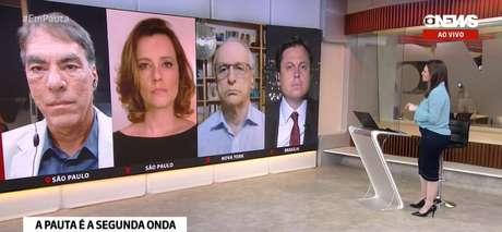 O 'Em Pauta' reúne jornalistas da GloboNews que geralmente pensam da mesma maneira, sem espaço para confronto de ideias