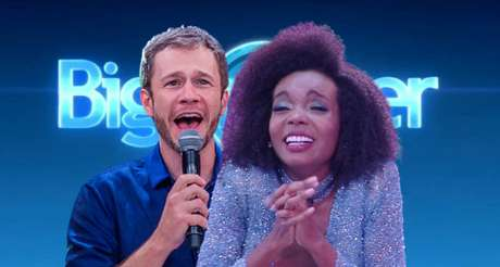 O apresentador Tiago Leifert e a campeã do 'BBB20' Thelma Assis: após fase decadente, o reality show da Globo reconquistou interesse do público e de gigantes da publicidade