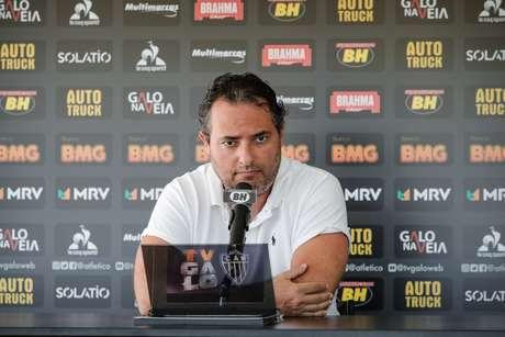 Alexandre Mattos foi demitido do cargo de diretor de futebol do Atlético-MG
