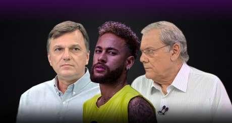 Neymar foi alvo da artilharia verbal de Mauro Cezar Pereira e Milton Neves após idealizar festa ignorando a gravidade da covid-19 no Brasil
