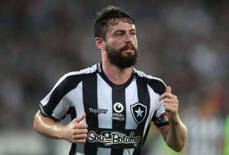 João Paulo em ação pelo Botafogo (Foto: Foto: Vitor Silva/SSPress/Botafogo)