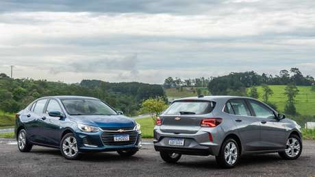 Chevrolet Onix e Onix Plus: família de carros mais vendida do Brasil na atualidade.