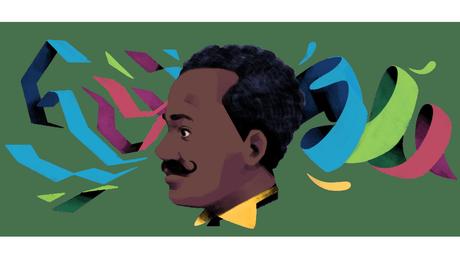 Homenagem feita pelo Google a Juliano Moreira no dia em que ele completaria 149 anos