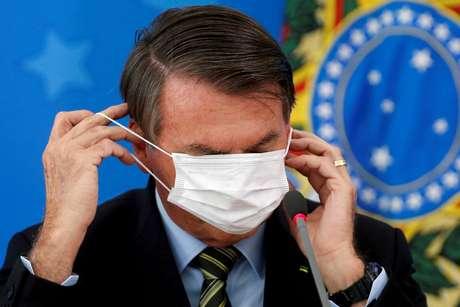 Presidente Jair Bolsonaro em evento no Palácio do Planalto 18/03/2020 REUTERS/Adriano Machado