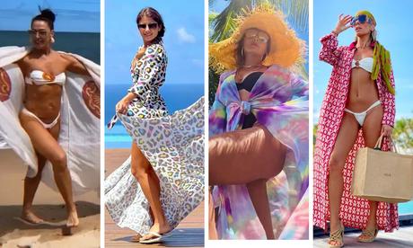 Claudia Raia, Paula Fernandes,Juliana Paes e Adriane Galisteu (Fotos: Reprodução/Instagram)