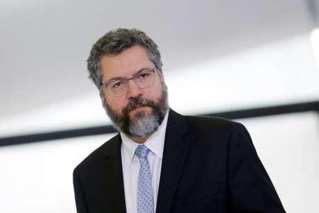 Chanceler brasileiro, Ernesto Araújo 09/11/2020 REUTERS/Adriano Machado