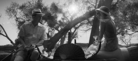 Gary Oldman como Herman Mankiewicz e Amanda Seyfried como Marion Davies