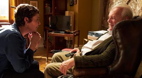 Anthony Hopkins e Olivia Colman em The Father (2020)
