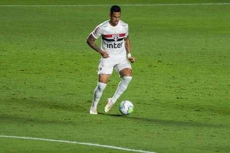Luciano treinou, mas ainda é dúvida para a próxima rodada (Foto: Maurício Rummens/Fotoarena/Lancepress!)