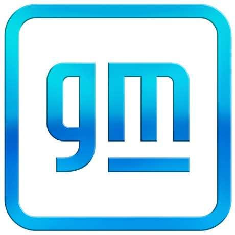 Novo logotipo da General Motors: união da tradição da empresa com sua otimista visão de futuro.