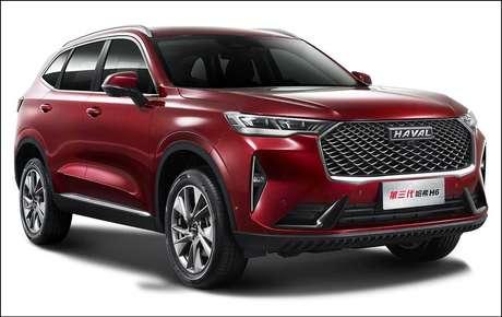 Novo Haval H6: sucesso imediato no mercado chinês e volta à liderança.