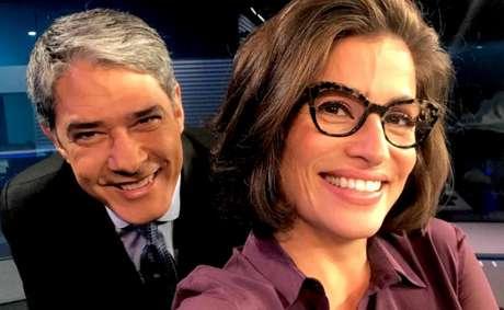 Desde novembro de 2014, William Bonner e Renata Vasconcellos formam a dupla de âncoras mais prestigiada da televisão brasileira