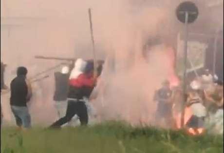 Torcedores organizados de Santos e São Paulo entram em confronto em Campinas