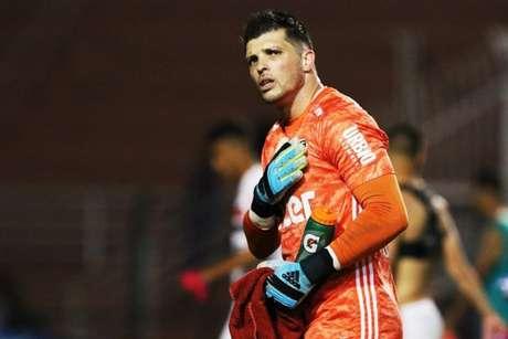 Volpi lamentou o revés contra o Santos em casa (Foto: Reprodução/Twitter São Paulo)