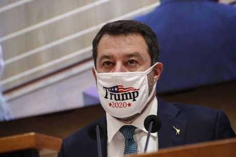 Salvini condenou a violência no Capitólio dos EUA