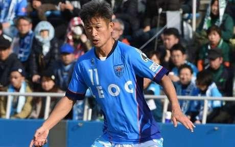 Kazuyoshi Miura é o jogador de futebol mais velho do mundo