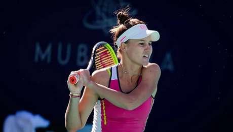 Russa Veronika Kudermetova está garantida nas semifinais