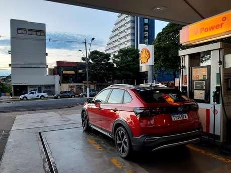 Consumo do nível é razoavelmente bom, pois o carro tem motor 1.0 turbo de 116 cv com gasolina e 128 cv com etanol.